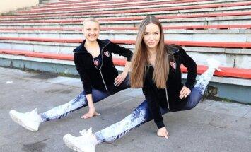 Kristina Usevičiūtė ir Gabrielė Stonkutė