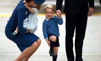 Kate Middleton ir princas George