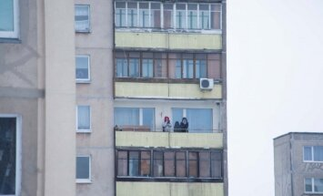 Rūkymas balkone