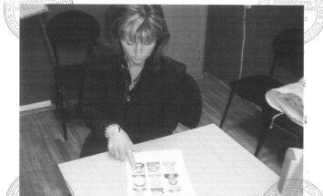 L. Ganusauskienė duoda parodymus Policijos departamente