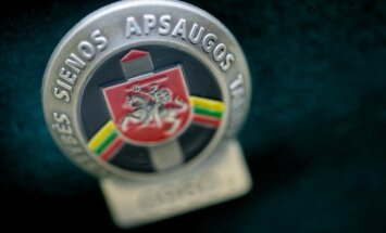 Lithuania's State Border Guard Service pin