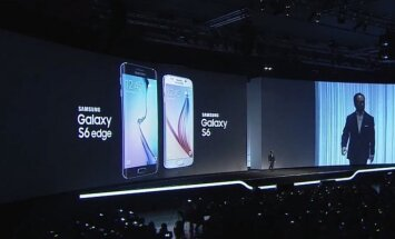 Samsung Galaxy S6 ir Samsung Galaxy S6 Edge pristatymas