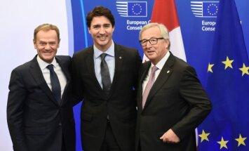 ES ir Kanada pasirašė sutartį
