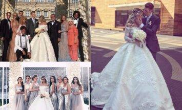 Alos Pugačiovos anūko vestuvės