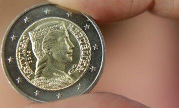 Latviška 2 eurų moneta
