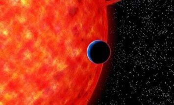 Žydroji egzoplaneta GJ 3470b (NAOJ iliustr.)