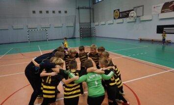 Klaipėdos FM U-8 komandos Bitutės pergalės šokis