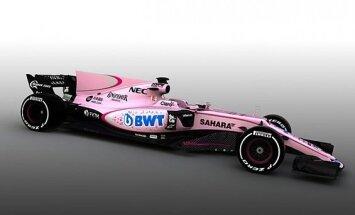 F-1 Force India automobilis