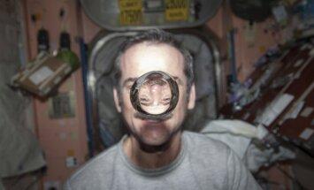 Štai taip kosmose atrodo vanduo