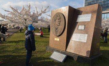 Sugihara Memorial in Vilnius Photo © Ludo Segers @ The Lithuania Tribune