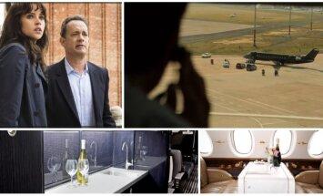 Klasjet lėktuvai bei jų interjeras