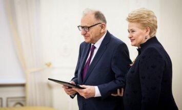 Algirdas Jonas Ambrazas, Dalia Grybauskaitė