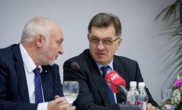 Valentinas Mazuronis ir Algirdas Butkevičius