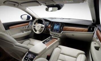 Volvo S90 interjeras