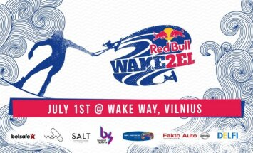 """""""Red Bull Wake2el"""" vandenlenčių varžybos"""