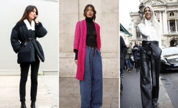 Vienos stilingiausių pasaulio moterų: Emmanuelle Alt, Julie Pelipas ir Sarah Harris