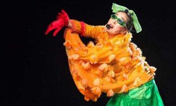 Scena iš spektaklio Žalioji Meksika