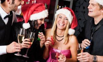Alkoholiniai gėrimai švenčių metu