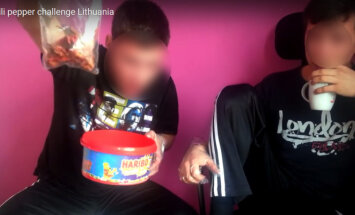 Lietuvos paaugliai valgo pipirą vaiduoklį