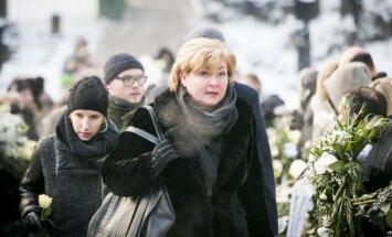 Editos Mildažytės vyro Gintauto Vyšniausko laidotuvės