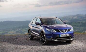 Nissan Qashqai taip pat gaminamas D. Britanijoje