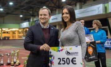 Diana Zagainova LLAF taurės varžybose pripažinta geriausia jaunimo grupės sportininke