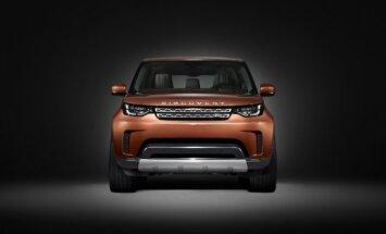 Naujasis Land Rover Discovery