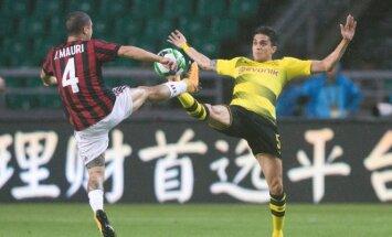 Susitinka AC Milan ir Dortmundo Borussia