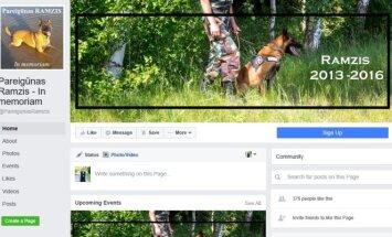 """Ramziui sukurtas """"Facebook puslapis"""
