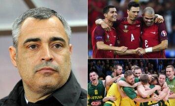 Jose Couceiro Portugalijos futbolo rinktinės pasiekimai panašūs į Lietuvos krepšinio nacionalinės komandos demonstruojamą stabilumą.