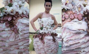 Modesto Vasiliausko kurta suknelė