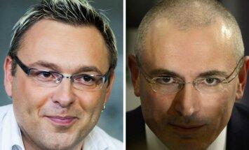 Michailas Chodorkovskis ir Egmontas Bžeskas