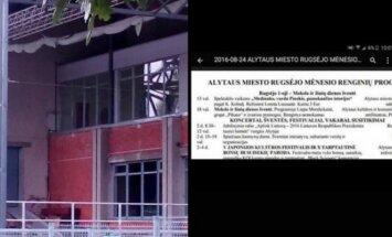 Alytaus miesto savivaldybės puslapyje buvo skelbiama apie būsimą koncertą