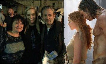 Dalia Ibelhauptaitė, Margot Robbie, Dexteris Fletcheris ir kadras iš filmo