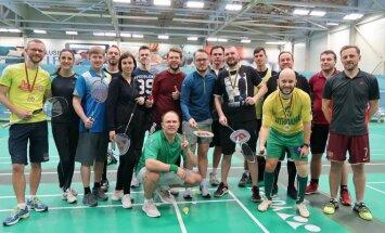 LSŽF badmintono čempionato dalyviai