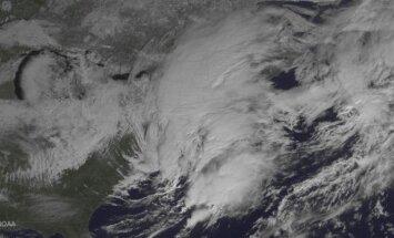 Žiemos orai iš kosmoso, NOAA nuotr.