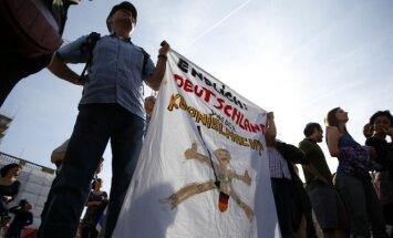 Berlyne musulmonai ir žydai surengė bendrą mitingą už apipjaustymą