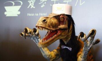 Robotų viešbutis Japonijoje