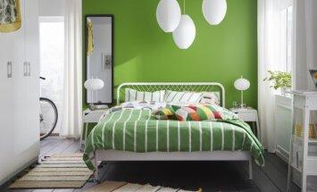 Kai vietos yra tik lovai: sumanūs sprendimai mažam miegamajam