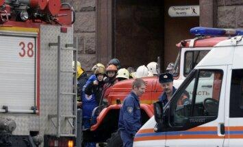 Teroro aktas Sankt Peterburge