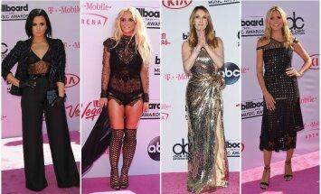D. Lovato, B. Spears, C. Dion, H. Klum