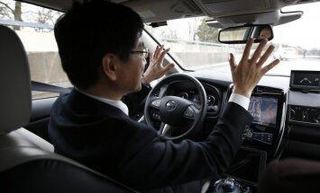 "Autonominis ""Nissan"" automobilis (asociatyvi nuotr.)"