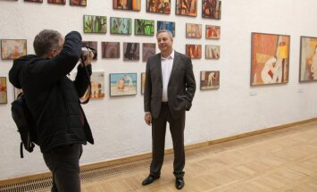 Ričardo Garbačiausko parodos atidarymas