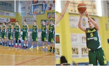 """Talentų U15 kartos"""" krepšininkai Italijoje"""