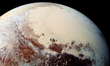 Zondo New Horizons nufotografuotas Plutonas