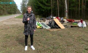Atliekomis užterštos Vilniaus vietos