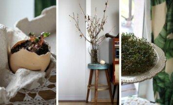3 idėjos, kaip paprastai namuose sukurti Velykų nuotaiką