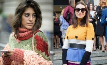 Šį sezoną madingiausi megztiniai bjauriukai