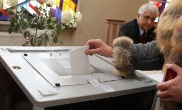 Balsavimas Rusijos ambasadoje