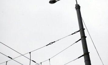 Elektra, elektros laidai, elektros srovė, tinklai, šviestuvas, gatvių apšvietimas, gatvės apšvietimas